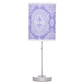 Lilac , Age of awakening, bohemian, newage Table Lamp
