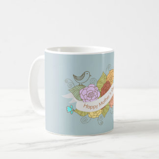 Lilac and Blue Happy Mother's Day Mug