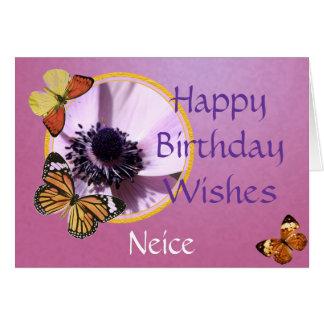 Lilac Anemone Card