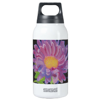 Lilac Aster Insulated Water Bottle