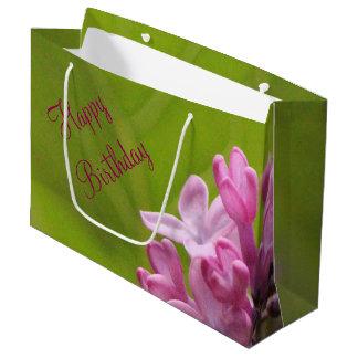 Lilac Birthday Bag