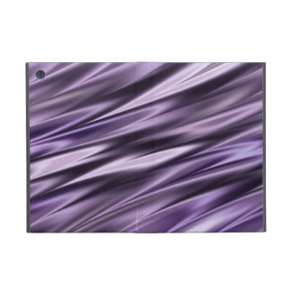 Lilac black waves cases for iPad mini