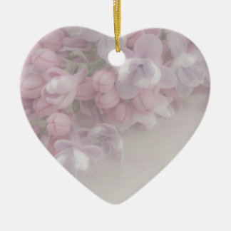 Lilac Blossom Ceramic Ornament