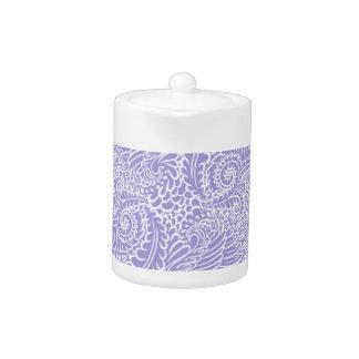 Lilac blue Floral twists