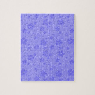 Lilac blue paper flowers jigsaw puzzle