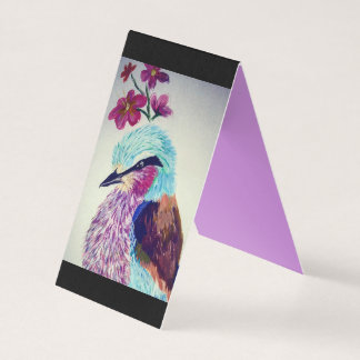 Lilac Breasted Roller Business Card