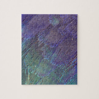 Lilac-breasted Roller feathers Jigsaw Puzzle