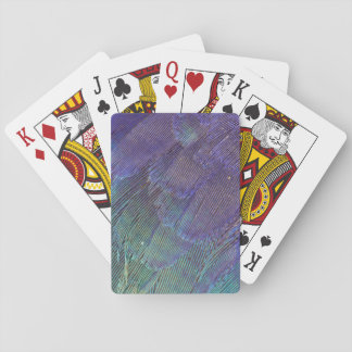 Lilac-breasted Roller feathers Playing Cards