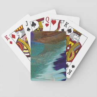 Lilac Breasted Roller feathers Poker Deck