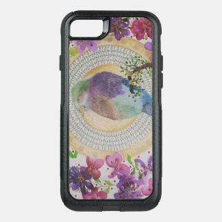 Lilac breasted roller OtterBox commuter iPhone 8/7 case