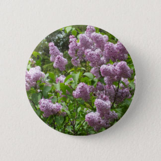 Lilac Bush 2 Inch Round Button