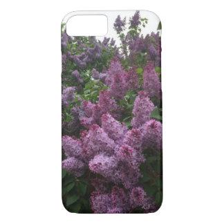 Lilac bush phone case