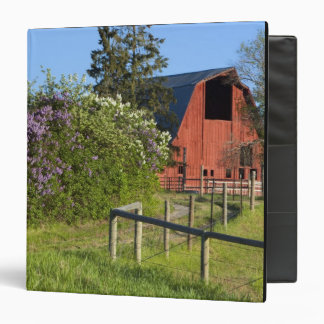 Lilac bushes in bloom and magpies in the trees binders