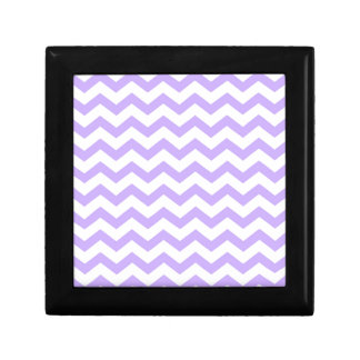 Lilac Chevron Gift Box