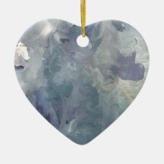 Lilac Chill Ceramic Ornament