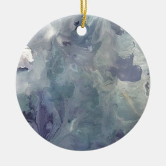 Lilac Chill Ceramic Ornament