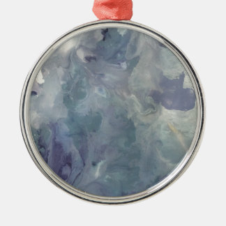 Lilac Chill Metal Ornament