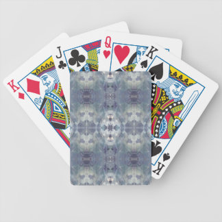 Lilac Chill Pattern Bicycle Playing Cards
