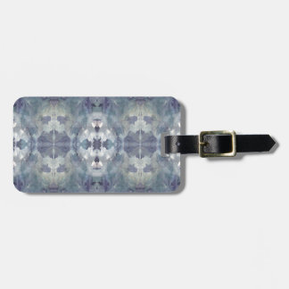 Lilac Chill Pattern Luggage Tag