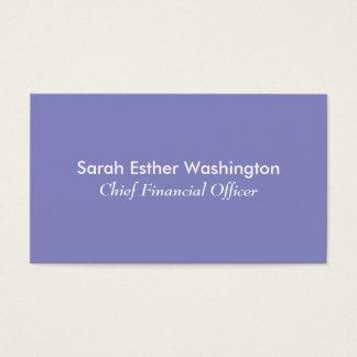 Lilac Colour Business Card