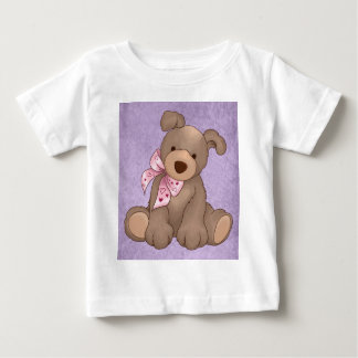 lilac denim and sweet teddy baby T-Shirt