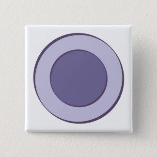 Lilac Dot 2 Inch Square Button