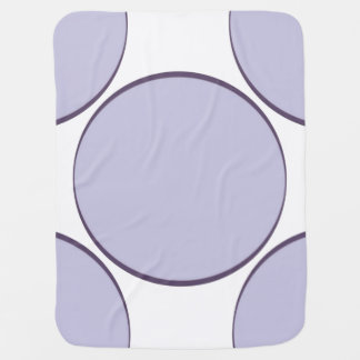 Lilac Dot Baby Blanket