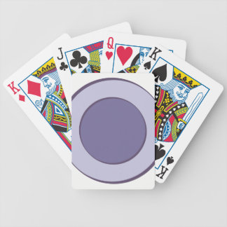 Lilac Dot Bicycle Playing Cards