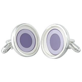 Lilac Dot Cuff Links