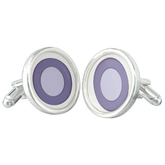 Lilac Dot Cufflinks