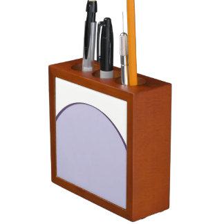 Lilac Dot Desk Organizer
