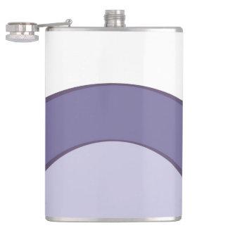 Lilac Dot Hip Flask