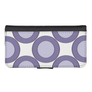 Lilac Dot iPhone SE/5/5s Wallet Case