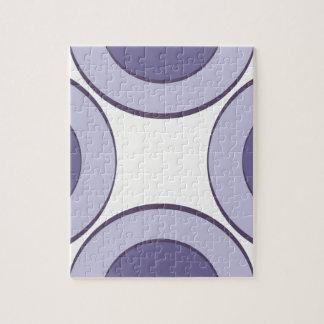 Lilac Dot Jigsaw Puzzle
