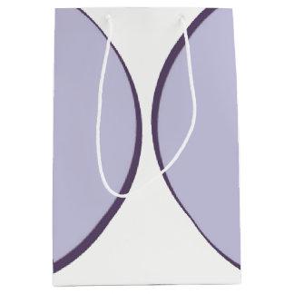 Lilac Dot Medium Gift Bag