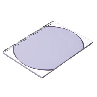 Lilac Dot Notebook