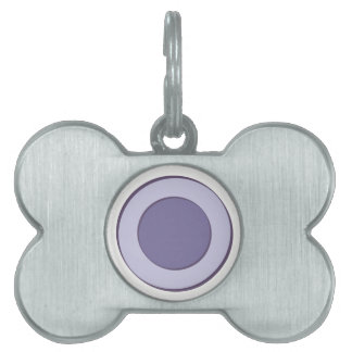 Lilac Dot Pet Tag