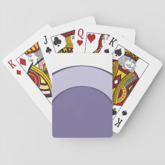 Lilac Dot Playing Cards