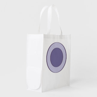 Lilac Dot Reusable Grocery Bag