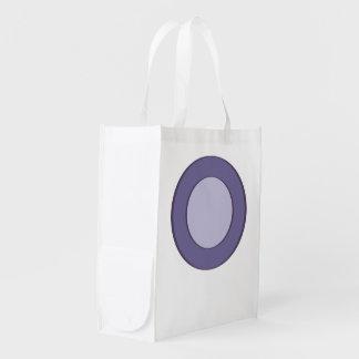 Lilac Dot Reusable Grocery Bag