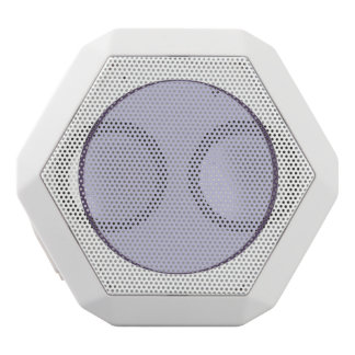 Lilac Dot White Bluetooth Speaker