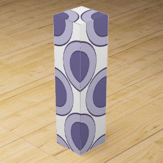Lilac Dot Wine Box