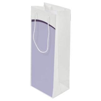 Lilac Dot Wine Gift Bag