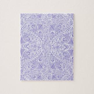 Lilac Elegant flow Jigsaw Puzzle