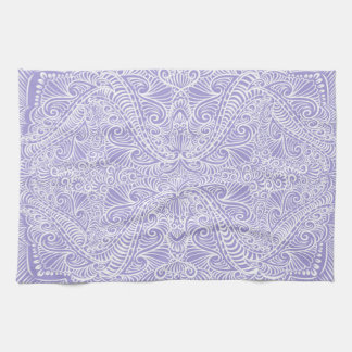 Lilac Elegant flow Kitchen Towel