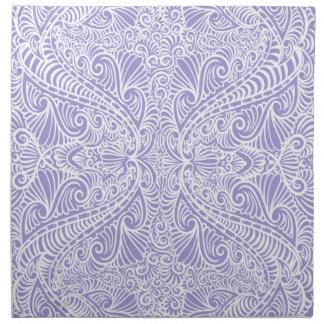 Lilac Elegant flow Napkin