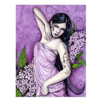 Lilac Fairy Postcard