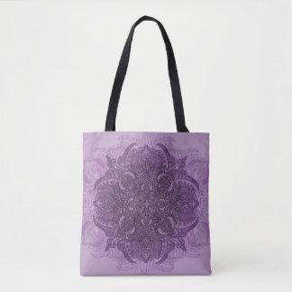 Lilac Fleury Tote Bag
