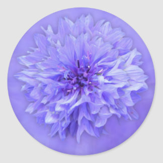 Lilac Floral Envelope Seal