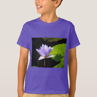 Lilac Flower with Lili Pads at Longwood Gardens T-Shirt